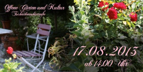 Offene Gärten & Kultur in der Tschaikowskistraße