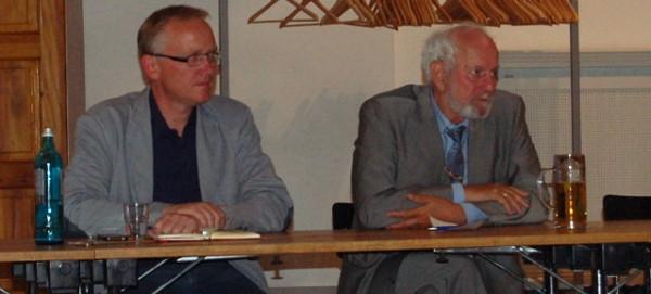 Klaus Mindrup und Prof. Dr. Ernst Ulrich von Weizsäcker