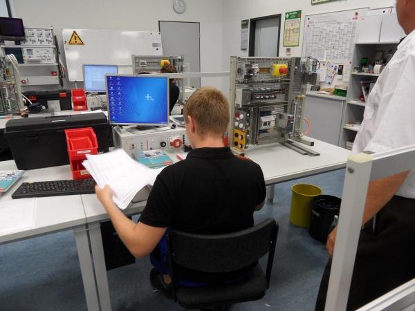 ABB Ausbildungsplatz für Mechatroniker