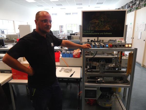 ABB Trainingcenter: Abschlußarbeit Prozessleittechnik