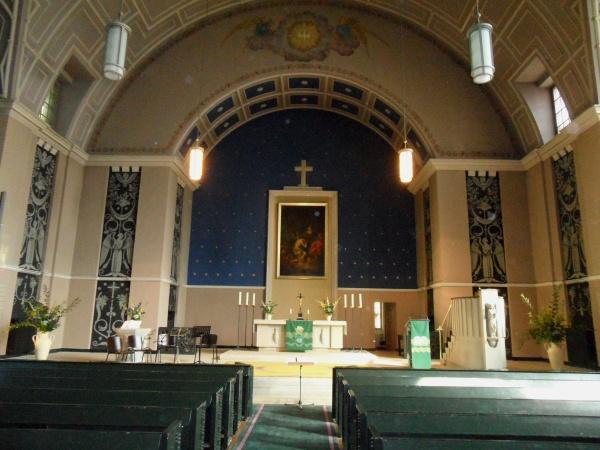 Hoffnungskirche Kuppelraum