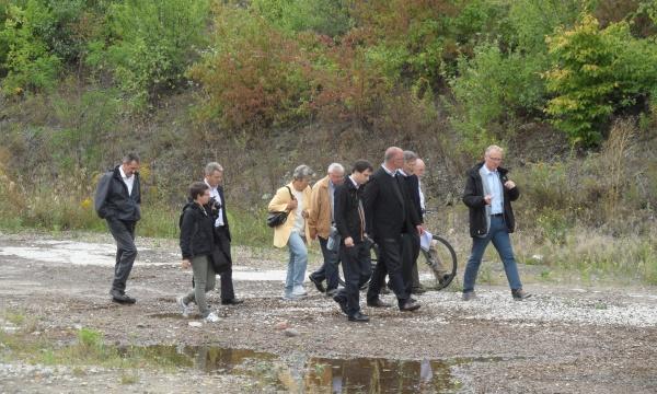 """Rundgang über das Baugelände """"Pankower Tor"""""""