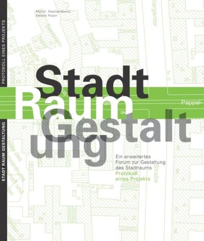 Stadt Raum Gestaltung  - Buchcover