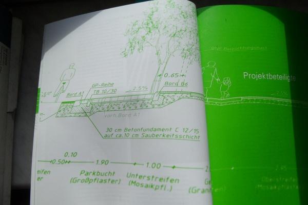 Stadt Raum Gestaltung: Baum ohne Wurzelraum geplant