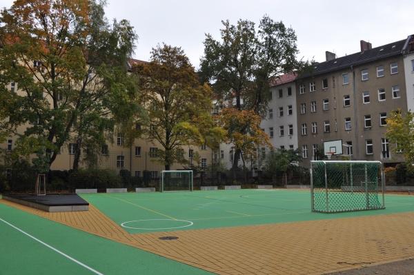 2. Pausenhof der Käthe-Kollwitz-Oberschule