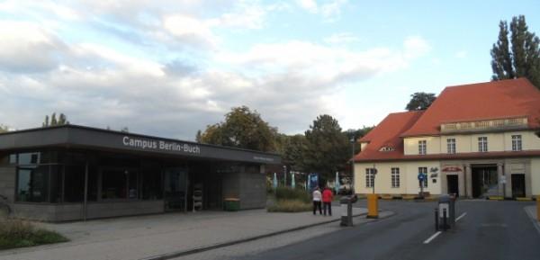 Campus Berlin Buch - Eingang Robert-Rössle-Straße