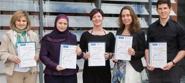 Gewinner des Reisepreises 2013 - Foto: Eckert & Ziegler AG