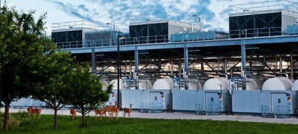 Google Data Center in Council Bluffs im US-Bundestaat Iowa - Foto: Google