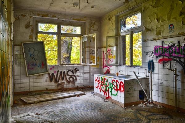 Ehem. Kinderkrankenhaus Weissensee in der Hansastraße -Foto: Axel Hansmann