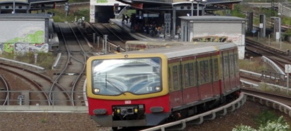 S-Bahn am Nordkreuz / Bahnhof Bornholmer Str.  - Foto: S-Bahn-Berlin GmbH