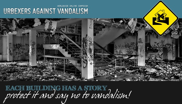Urban Explorers against Vandalism - Campaign Website
