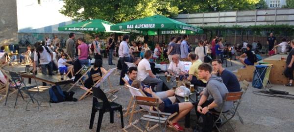 WBB-Berlin: Emil´s Biergarten im August 2013