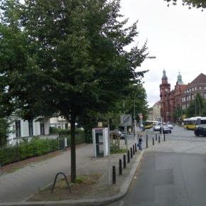 Alt-Pankow: Wilhelm Kuhr Straße / Wollankstraße