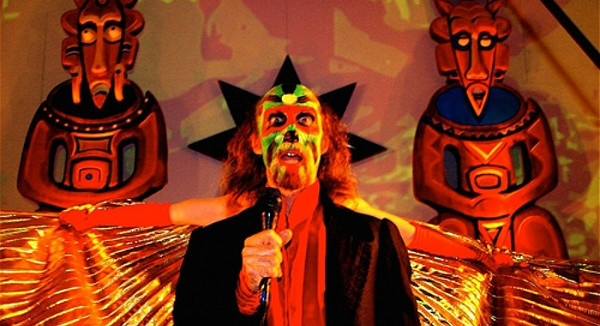 Arthur Brown in seiner Show