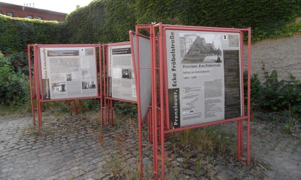 Ausstellung Prenzlauer Ecke Fröbelstrasse