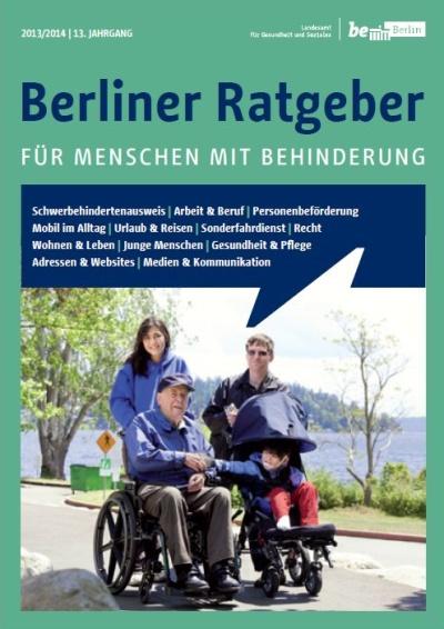 Berliner Ratgeber für Menschn mit Behinderung 2013/2014