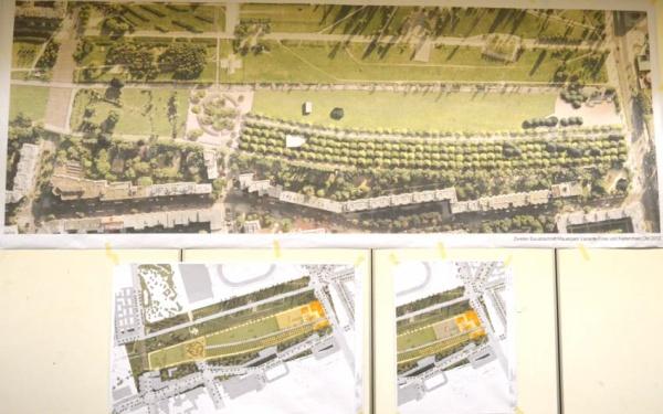 Entwurfsplanung Mauerpark 2013 - Verf. Prof. Gustav Lange / Breimann Bruuns & Simons