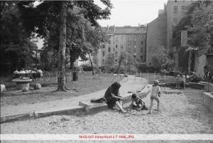 Hirschhof am 3.7.1986 - Foto: Gerd Danigel