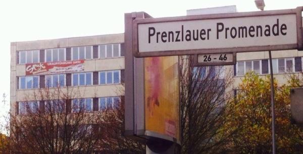 Spuk im Hochhaus in der Prenzlauer Promenade 149-152 in Pankow