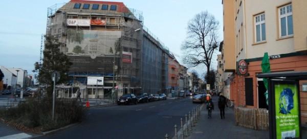 Weissenseer Spitze - Blick in die Gustav-Adolf-Strasse