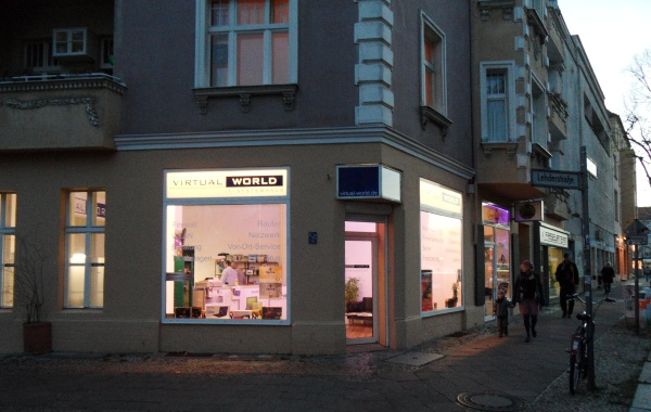 Gustav-Adolf-Strasse Ecke Lehderstrasse