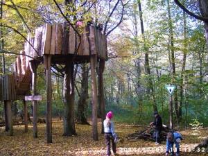 Wichtelsitz in der Walschule Bucher Forst