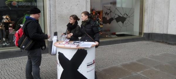 Themenjahr Zerstörte Vielfalt: Schaufensterfolien am 9./10. November 2013