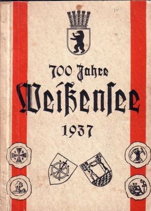 700 Jahre Weissensee - Festschrift aus dem Jahr 1937