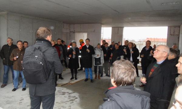 Richtfest am 29.11.2013 in der John-Schehr Strasse /Bötzowstrasse