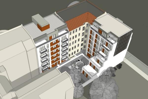 Selbstbau e.G.: John-Schehr-Str. 34-36 / Bötzowstr. 63 - Simulation: SKP-Architekten