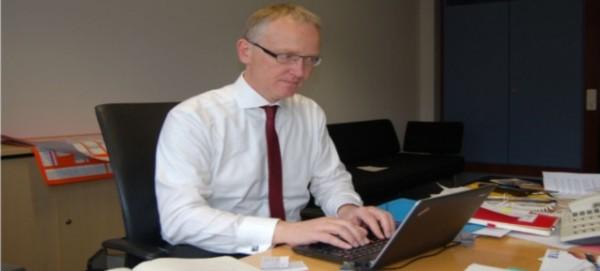 Bundestagsabgeordneter Klaus Mindrup (SPD)