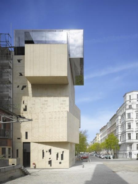 Neubau Tschoban Foundation - Foto: © Roland Halbe