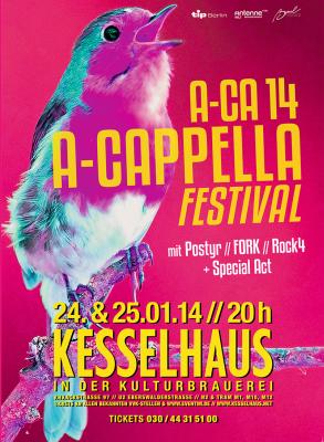 Fork - A-Capella Festival A-CA 14