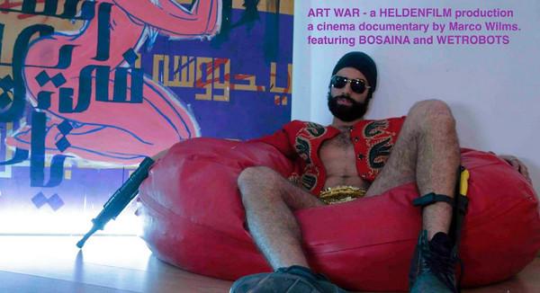 Marco Wilms für den Film Art War, Foto: © M. Wilms, DOK Leipzig
