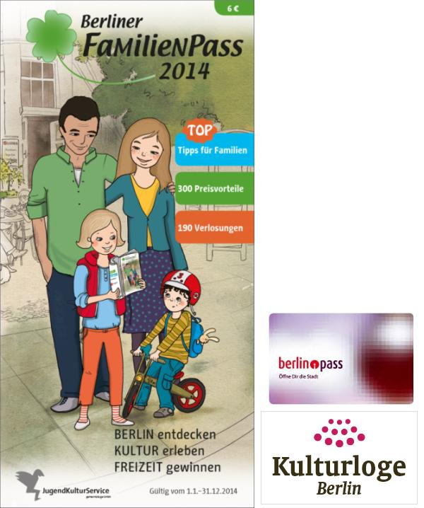 Familienpass 2014 - berlin-pass - Kulturloge