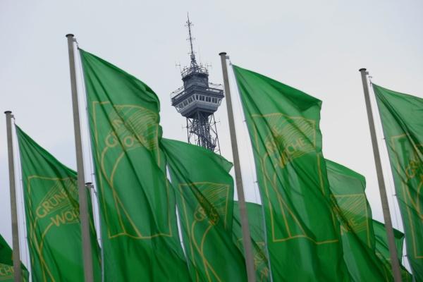 Internationale Grüne Woche 2014 mit Funkturm