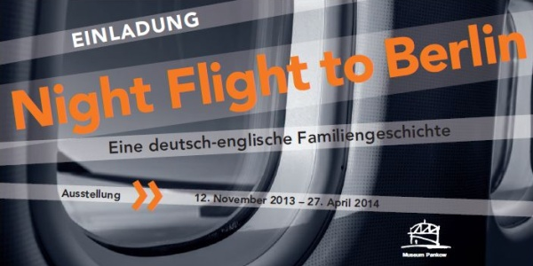 Night Flight to Berlin - Plakat und Flyer