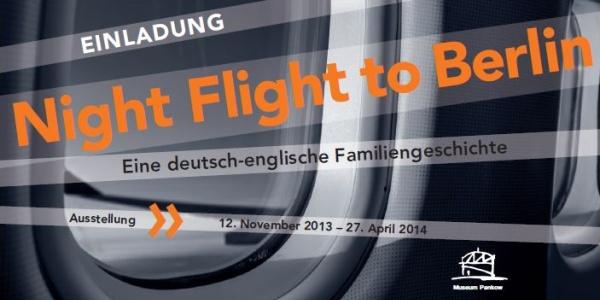 Night Flight to Berlin - Plakat und Flyer