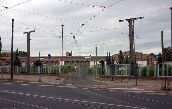 Straßenbahndepot und Betriebshof in der Dietzgenstrasse 100