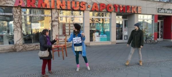 BAIZ: Umzugs-Menschenkette am 23.2.2014