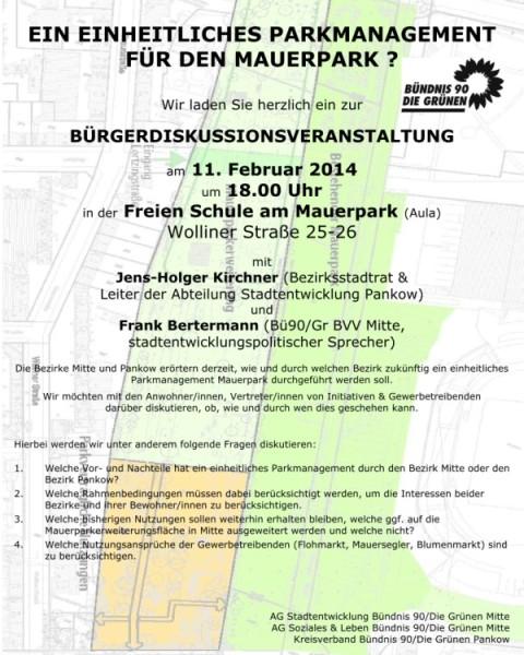 Veranstaltung am 11.2.2014