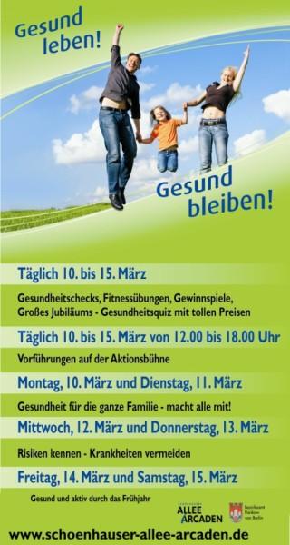 15.Gesundheitstage 2014