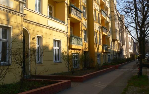 Vorgärten in der Görschstraße