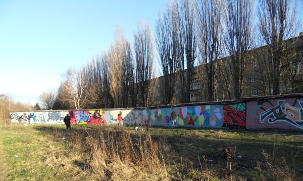 Grafitti-Sprayer in Pankow