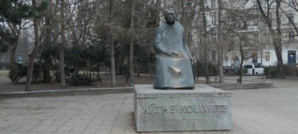 Kaethe-Kollwitz-Denkmal am 5.3.2014