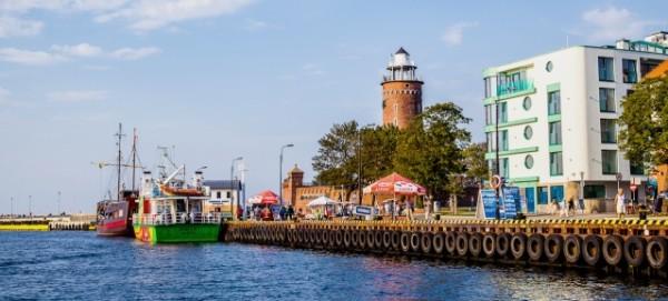 Kolobrzeg: Hafen