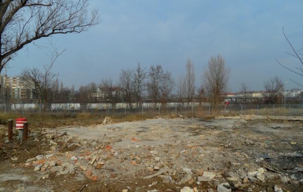 Mauerparknordfläche mit Blick zum Nordkreuz