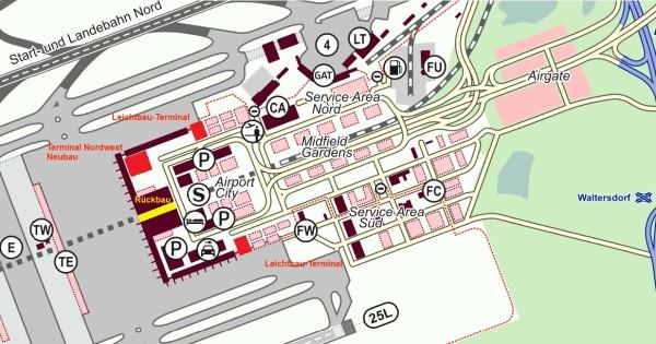 Flughafen BER - Umbaukonzept
