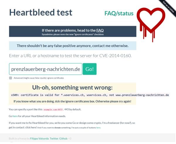 Heartbleed-Test