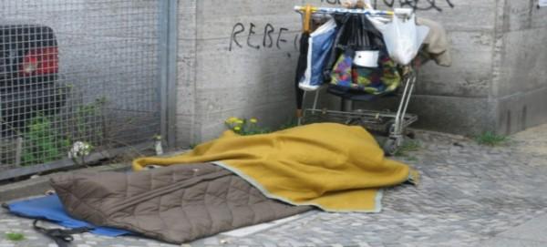 Notquartier auf der Straße - Foto: Mob e.V.